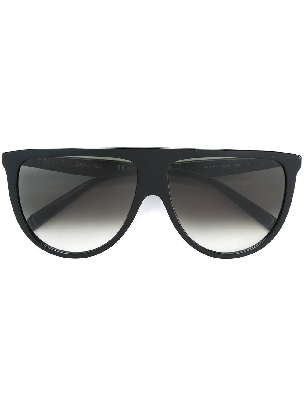 bc33db3ad4dfc Céline Eyewear  Thin Shadow  Sunglasses - Farfetch