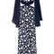 Cutout embroidered gown | moda operandi