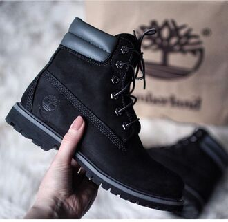 shoes timberlands timberland black black boots black shoes winter outfits winter boots snow sneakers