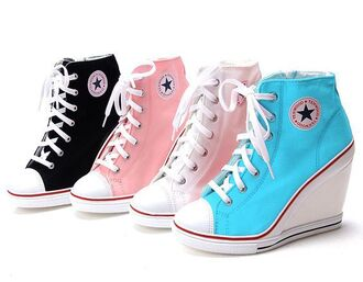 shoes converse wedges lift sneakers