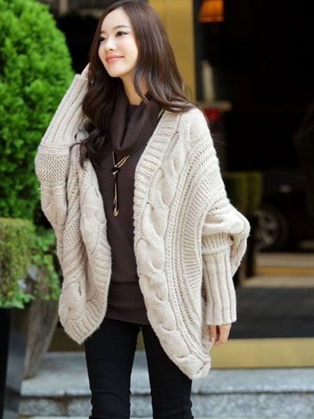 OM Vintage Batwing Cardigan | Outfit Made