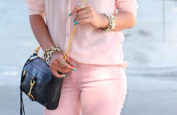 jeans bag jewels
