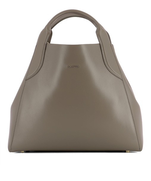 lanvin bag leather grey