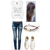 shirt,lyrics,quote on it,infinity,converse,jeans,come and get it,selena gomez