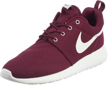 nike roshe run bordeaux rood