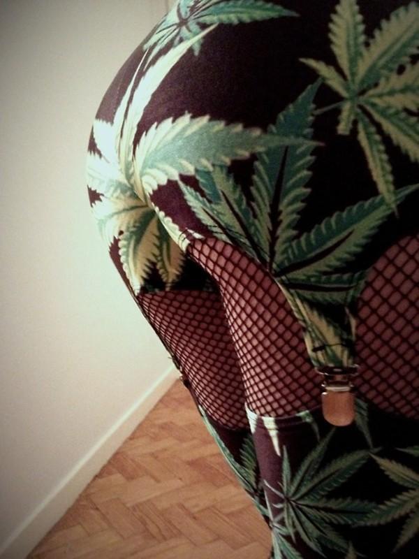 underwear garter garter leggings lingerie weed leggings weed 420