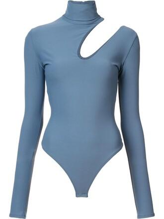 bodysuit women spandex grey underwear