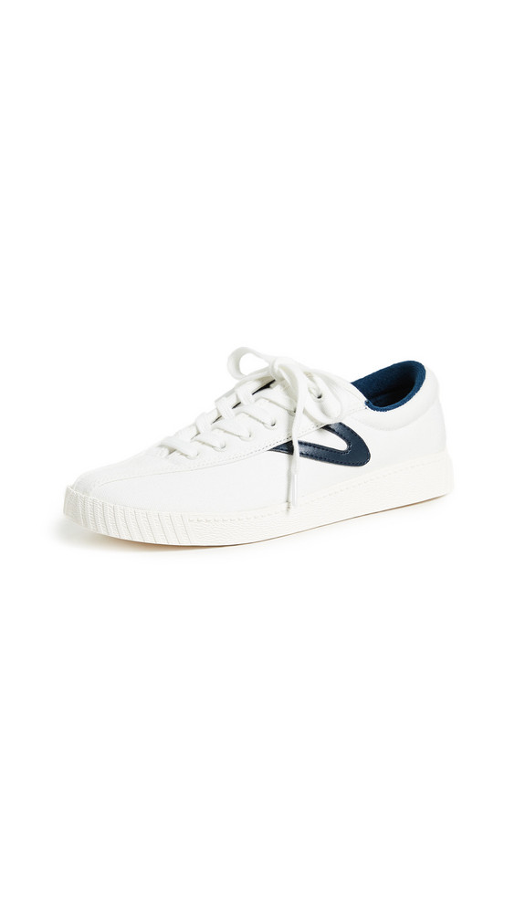 Tretorn Nylite Plus Lace Up Sneakers in white