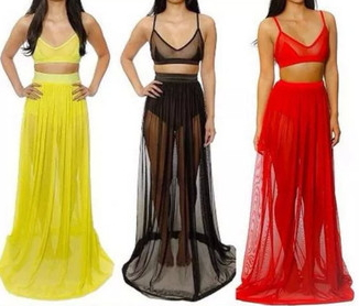 Long Maxi Clubwear - Juicy Wardrobe