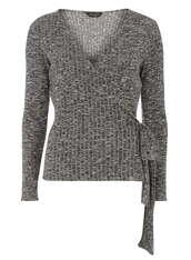 sweater,wrap sweater,ribbed sweater,jumper,knitwear,ribbed cardigan