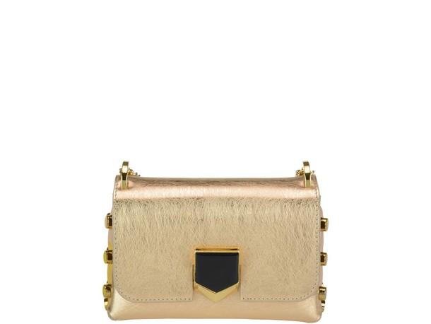 Jimmy Choo mini bag gold