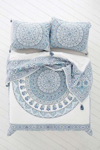 home accessory home decor bedding bed sheet or bed spread boho decor