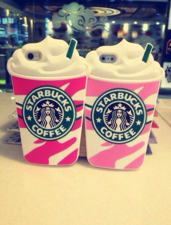Starbucks Silicone Coffee Cup Case For Iphone 5 5s 5c