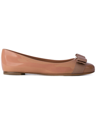 women leather nude shoes