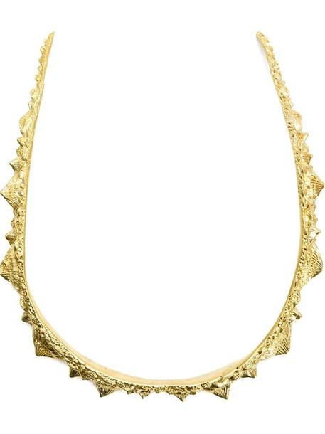 Henson necklace yellow orange jewels