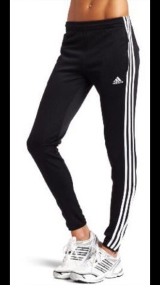 pants adidas pants black pants white pants