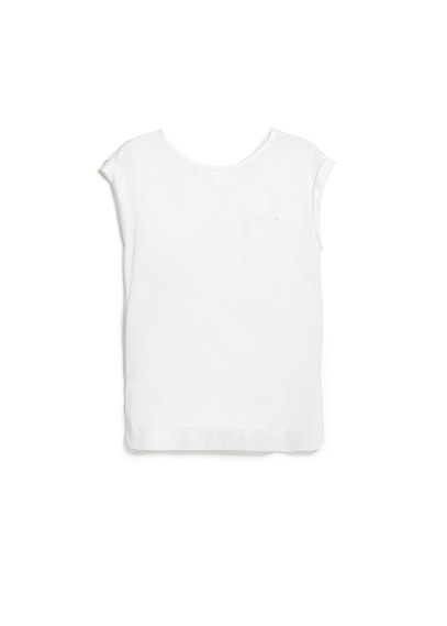 satin appliquã© t-shirt