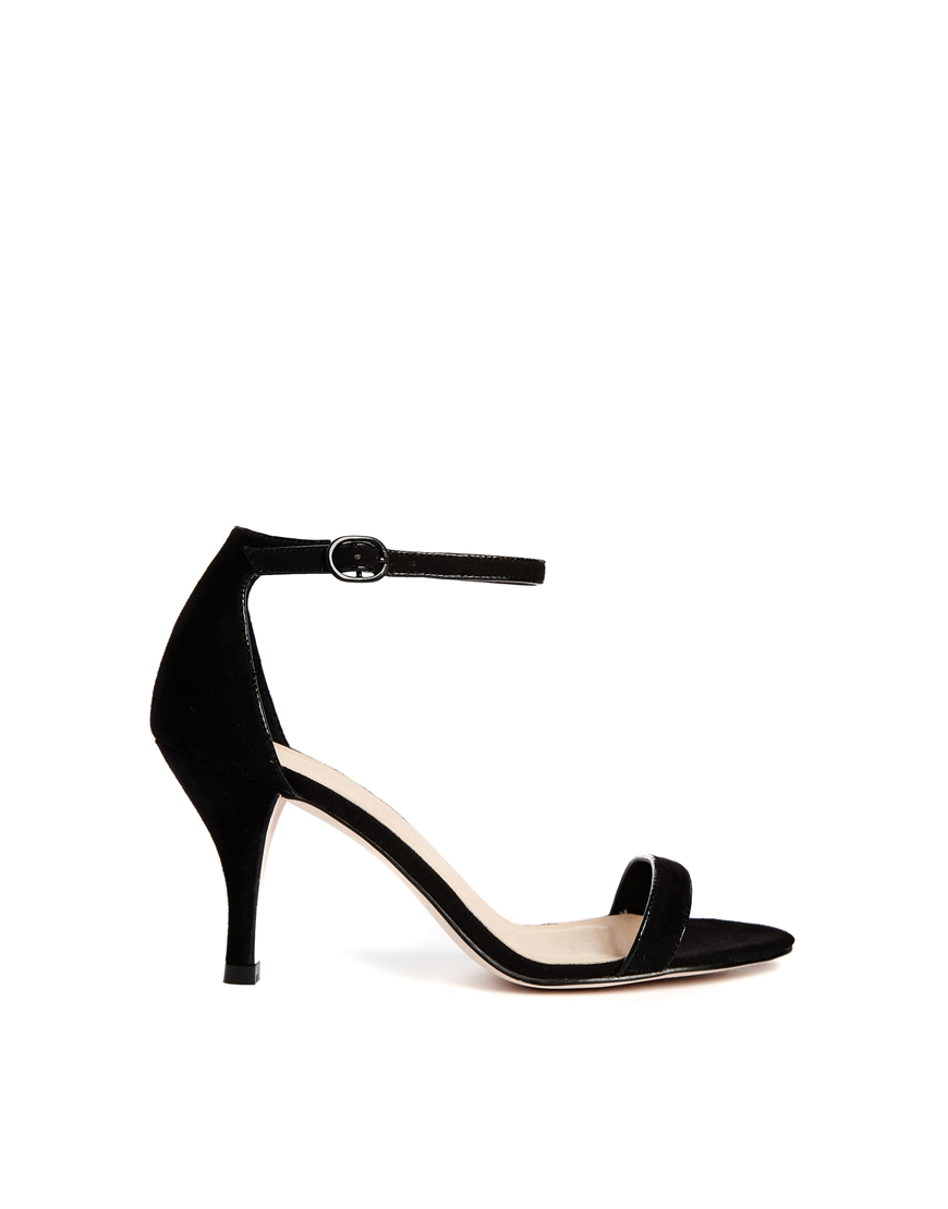ASOS HARLEQUIN Heeled Sandals at asos.com