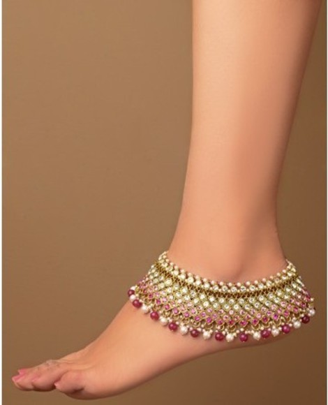 arabic style jewels anklet anklet wedding wedding beach multicolor jewel anklet jewels india style payal bollywood star style wedding clothes beach jewelry accessories beach accessories