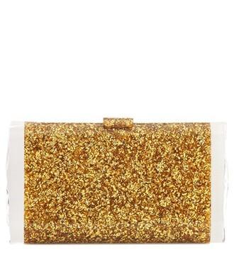 clutch gold bag