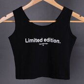 top,crop tops,fashion,trendy,black,quote on it,style,trendsgal.com
