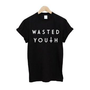 Wasted Youth Inverted Cross T Shirt: Amazon.co.uk: Clothing