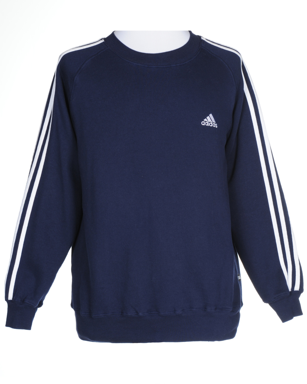 adidas navy sweatshirt s clothing rokit vintage clothing