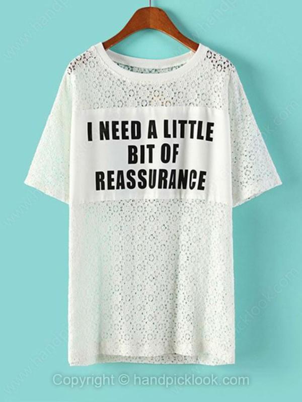 t-shirt top lace t-shirt