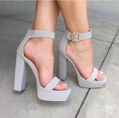 shoes,high heel sandals,grey heels,high heels