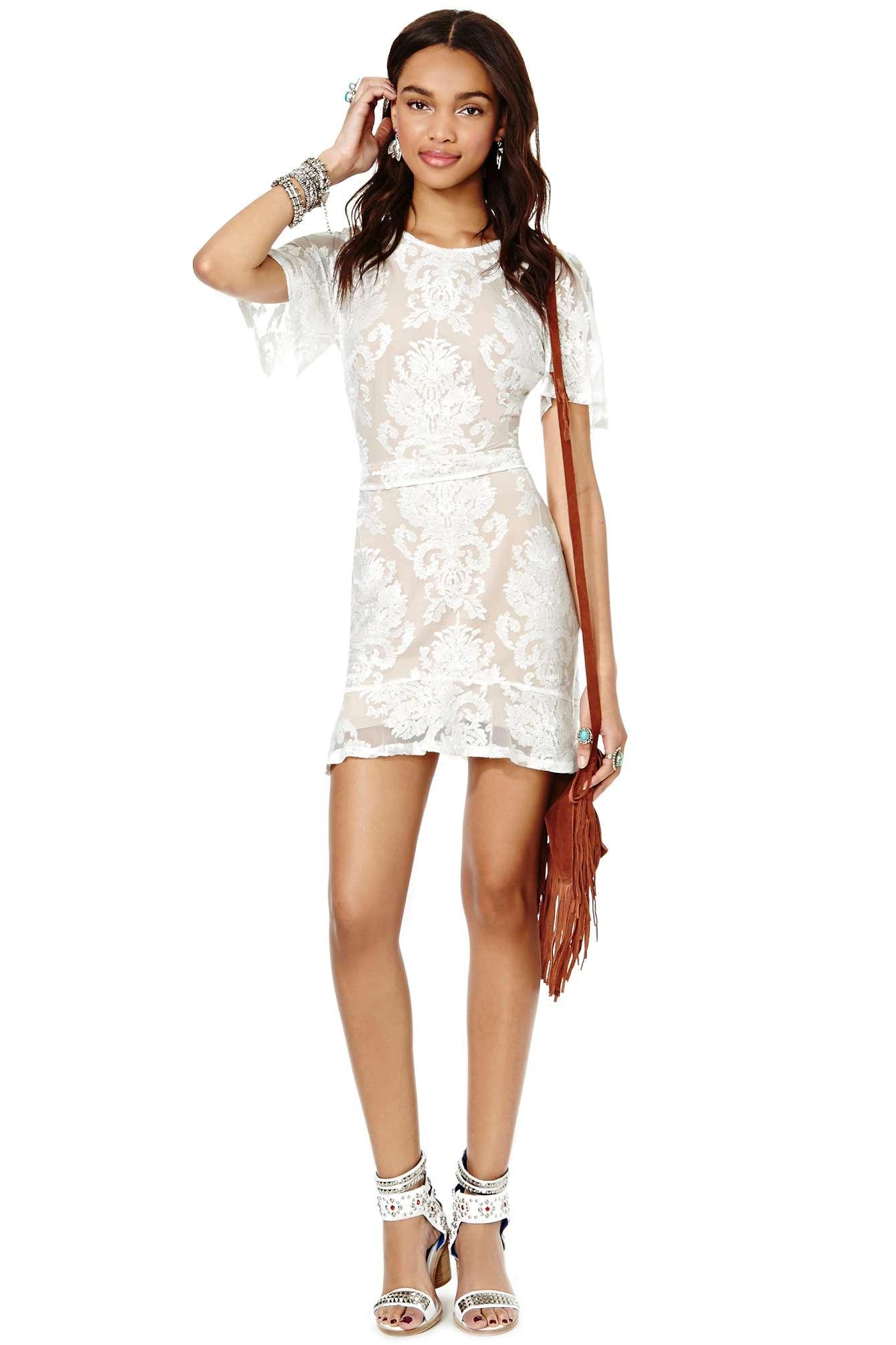 For love and lemons san marcos mini dress