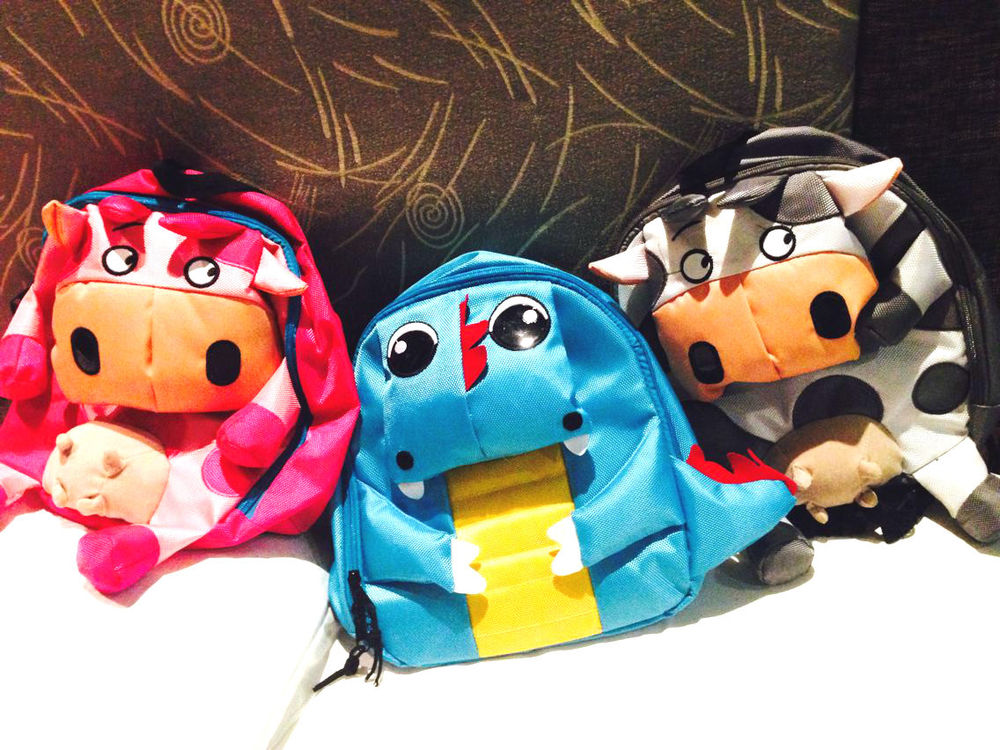 2014 New Baby Toddler Kid Child Cartoon Animal Backpack Schoolbag Shoulder Bag | eBay
