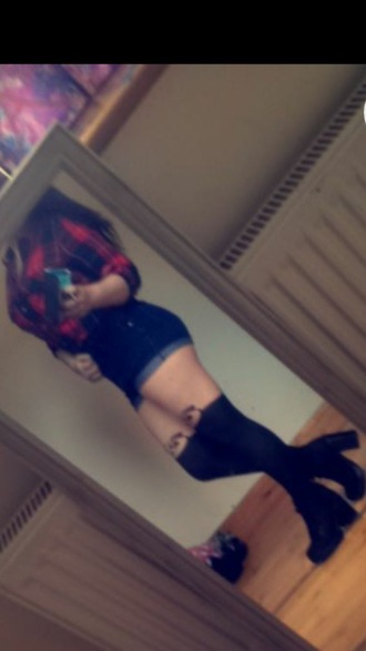 tights panda tights tattoo tights red flannel short shorts kawaii grunge hipster bootylicious amazeballs