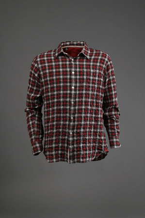 Woven shirt in red plaid: buy shirt by shirt at couturecandy.com