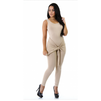 Casual : knot my jumpsuit