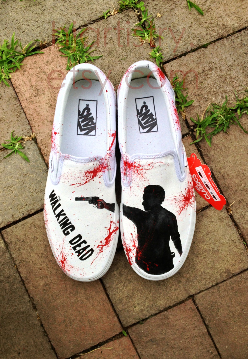 Walking dead converse shoes for sale - Walking Dead Shoes Sheriff Rick Grimes Daryl Dixon Twd Shoes Walkind Dead Hand Painted Shoes