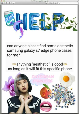 phone cover holographic alien aesthetic i need this help melanie martinez crybaby grunge tumblr