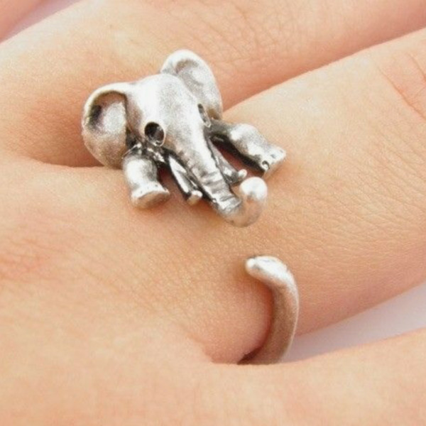 jewels elephant ring