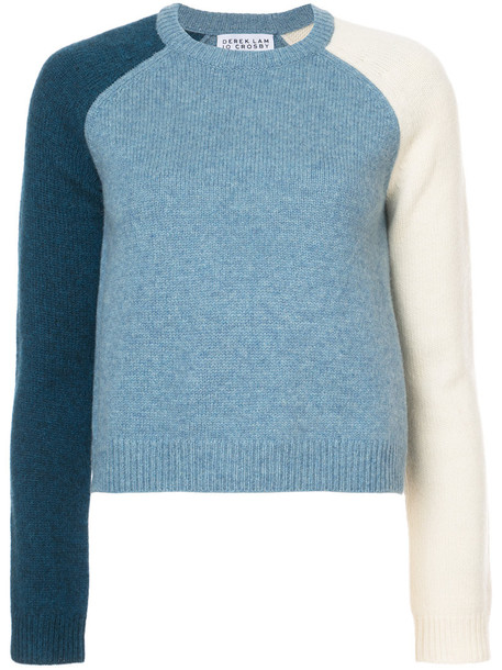 DEREK LAM 10 CROSBY sweater women blue wool