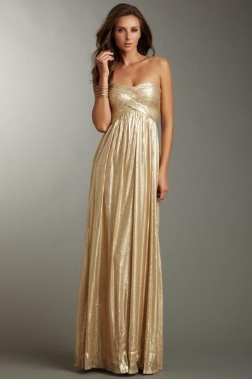 La Femme Strapless Sequin Gown | prom | Pinterest