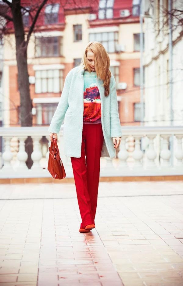 tini tani coat sweater pants bag shoes