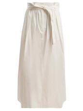 skirt,cotton,white