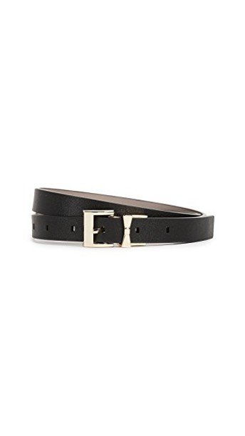 Kate Spade New York belt leather black