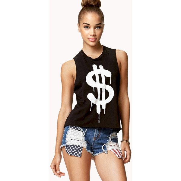 Dollar Sign Muscle Tee | FOREVER21 - 2076893910