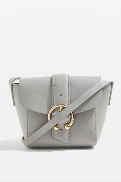 Topshop cross bag grey