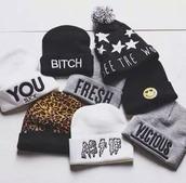 hat,stars,graphic tee,beanie,weheartit dress,indie,grunge,bohemian,hipster