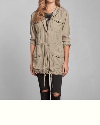 jacket light brown