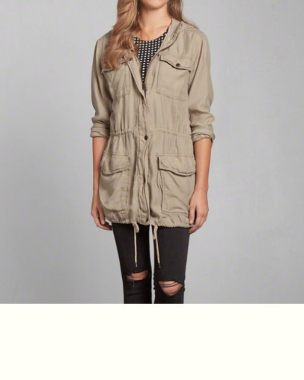 Light Parka Jacket Womens | Fit Jacket