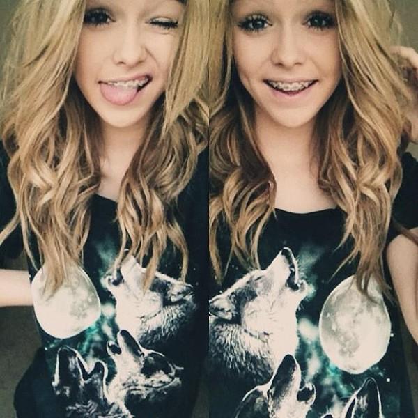 shirt wolf acacia brinley moon girl