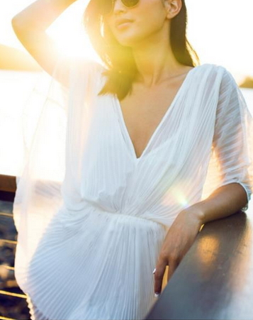 White Noble Dress   - Juicy Wardrobe