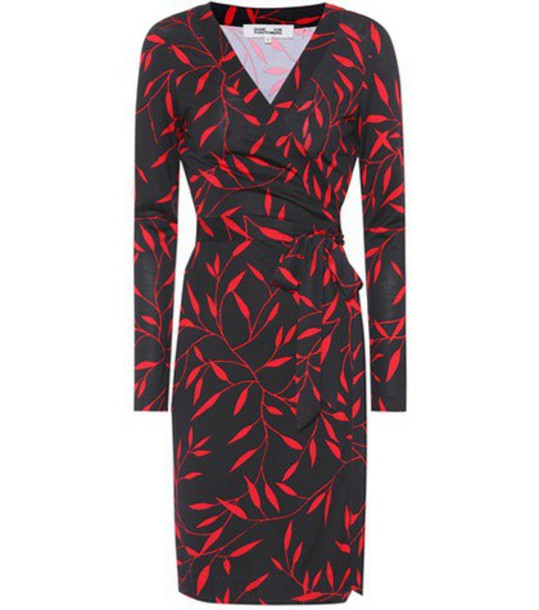 Diane Von Furstenberg dress wrap dress silk